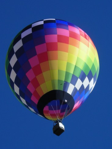 The annual Balloon festival in July each summer draws people from all over the country.