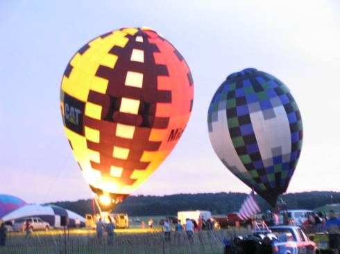 The 'Balloon Illume' is a popular featured event on 4th of July weekend in Battle Creek, Michigan