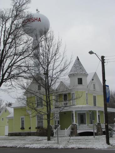 Beautiful Architecture in Tekonsha, Michigan